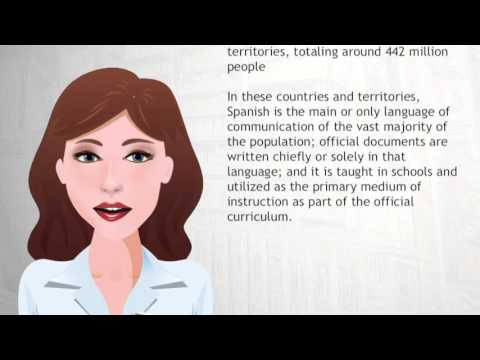 List of countries where Spanish is an official language - Wiki Videos