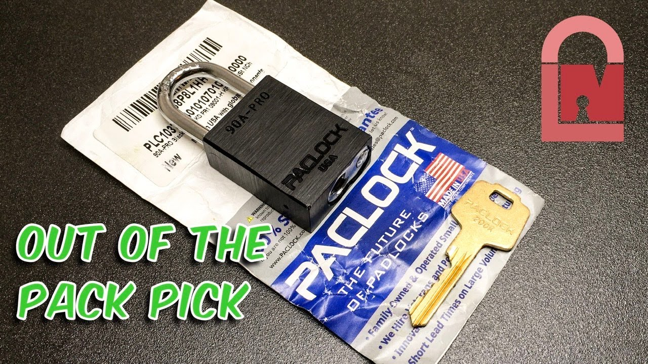 7 Pin New PacLock Pro Out of the Pack Pick
