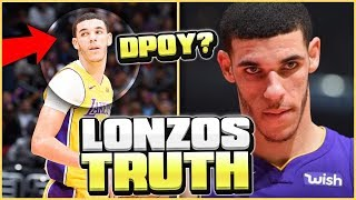 THE REAL TRUTH ABOUT LONZO BALL THE STATS DON'T SHOW YOU!
