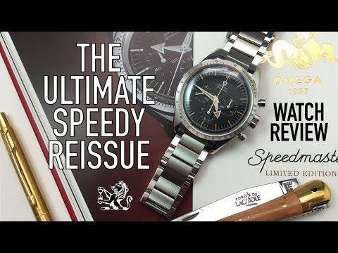 The Ultimate Vintage Reissue - Have I Found My Perfect Speedmaster? Omega 1957 Trilogy Watch Review
