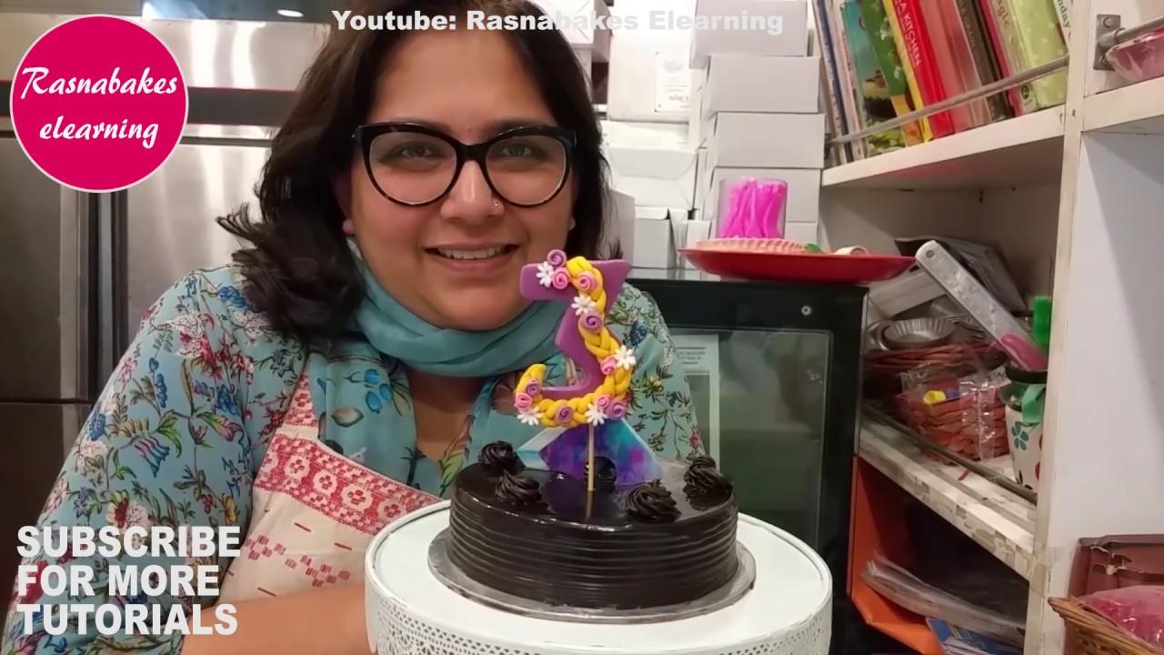 Rapunzel Tangled Disney Birthday Cake Topperbirthday For Girls Decorating Classes Video