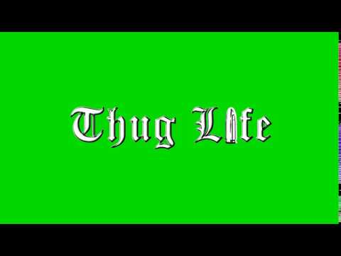 THUG LIFE GREEN SCREEN EFFECT MIT SOUND