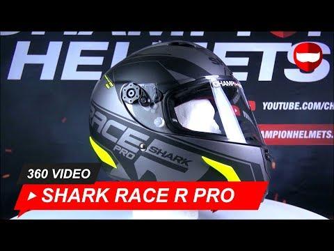 Shark Race R Pro Sauer Mat AKY Full-Face Helmet Unboxing - ChampionHelmets.com