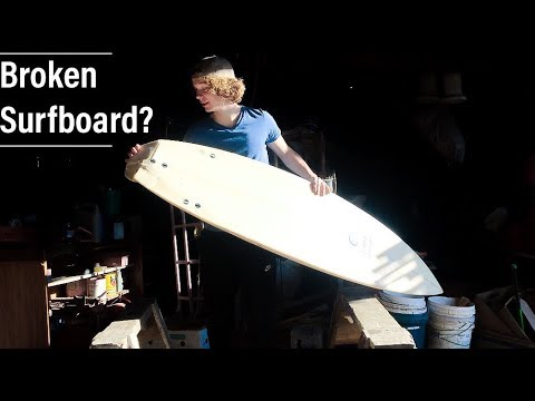 WHAT TO DO with your BROKEN SURFBOARDS?