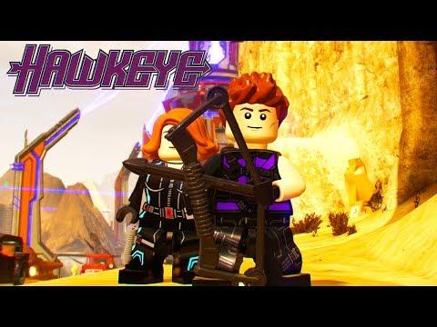 LEGO Marvel Super Heroes 2 Hawkeye Unlock Location + Free Roam Gameplay