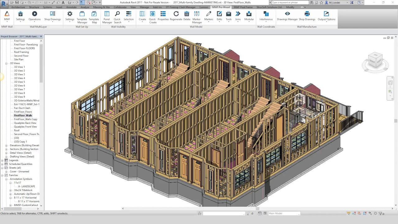 MWF Pro Wood - StrucSoft Solutions