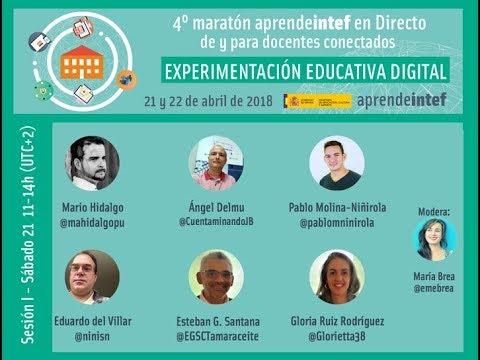 4º Maratón #AprendeINTEF en directo - I Sesión