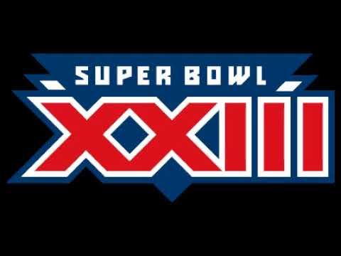 Super Bowl 23 (XXIII) - Radio Play-by-Play Coverage - CBS Radio Sports