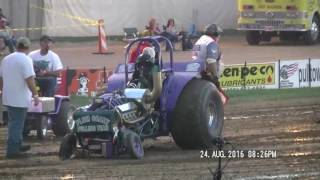 MINI MODIFIED TRACTORS NTPA GRAND NATIONAL EVENT GREENVILLE, OHIO AUG 24, 2016