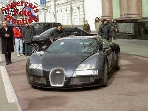 Supercars in Moscow(Russia) PART 1 Суперкары москвы