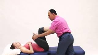 Грушоподібної м'язи - керівництво для ручного і руху терапевти, лежачи Рис. 4 стрейч