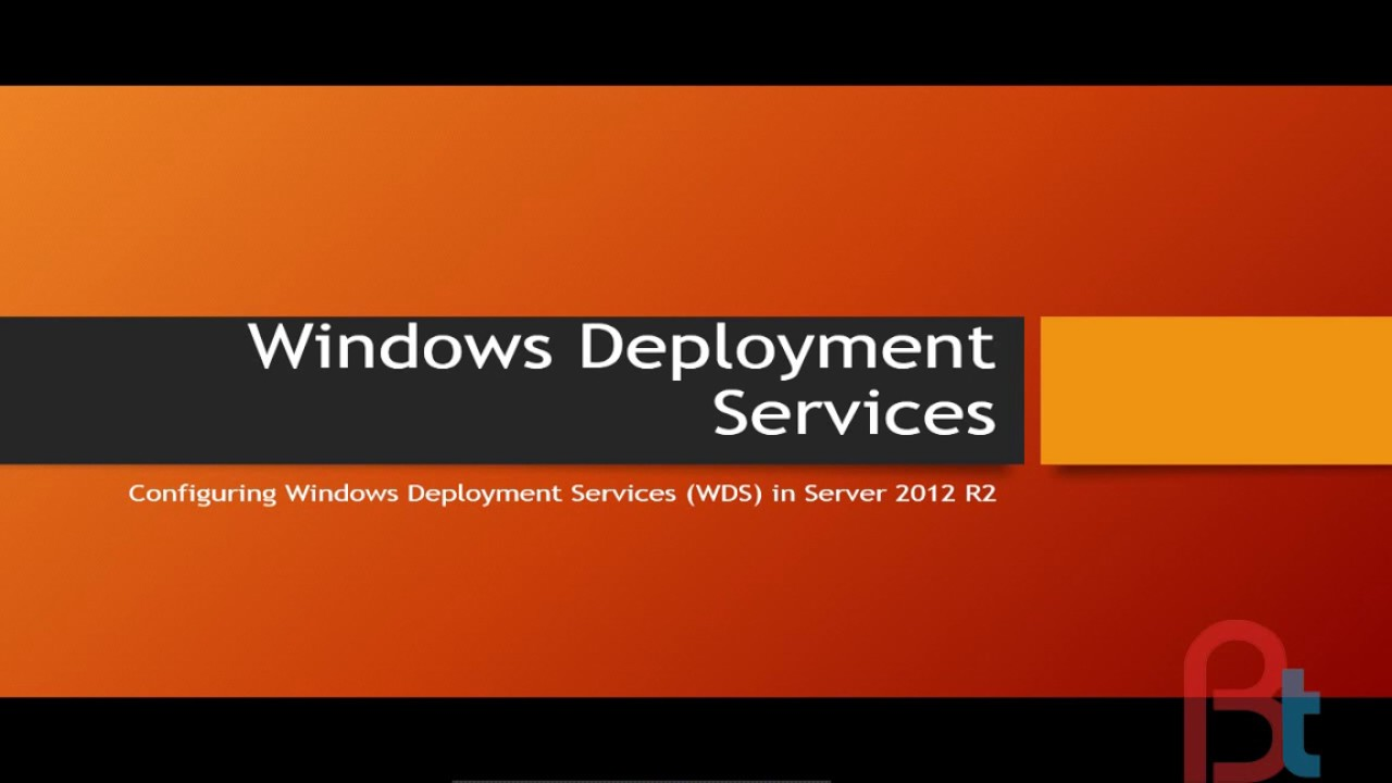 Configuring Windows Deployment Services in Hindi Server 2012 r2