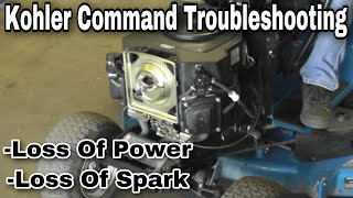 Troubleshooting Video : Kohler Command Twin Engine Problems with Taryl