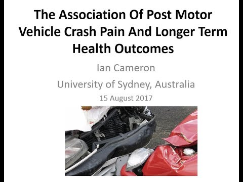 The Association Of Post Motor Vehicle Crash Pain And Longer Term Health Outcomes