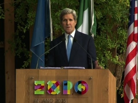 Kerry Talks Climate Change, Food at Milan Expo