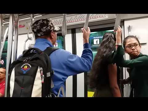 Kelana Jaya Line - Bombardier Innovia Metro 300 Ride From KL Sentral To USJ 7