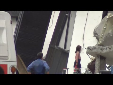 SPOILERS: Behind the scenes of Batman v Superman, Bruce Wayne, Metropolis set