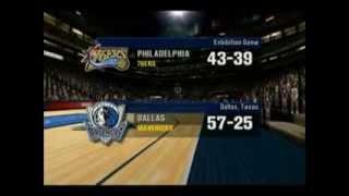 NBA Inside Drive 2003 Sixers vs Mavericks Part 1