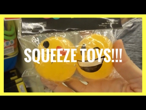 NEW SQUEEZE TOY SQUISHIES AT HOBBY LOBBY!!! | VLOG