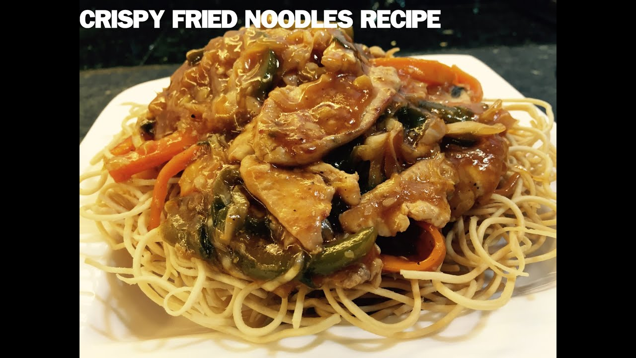American chopsuey crispy noodles served with boneless chicken american chopsuey crispy noodles served with boneless chicken vegetables and a tangy sauce youtube forumfinder Gallery