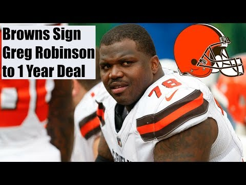 Browns Sign Greg Robinson to a 1 Year Deal