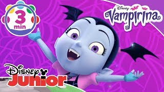 Vampirina | Ghoul-some 'Dancelvania Day' Halloween Dance Tutorial 💜 | Disney Junior UK