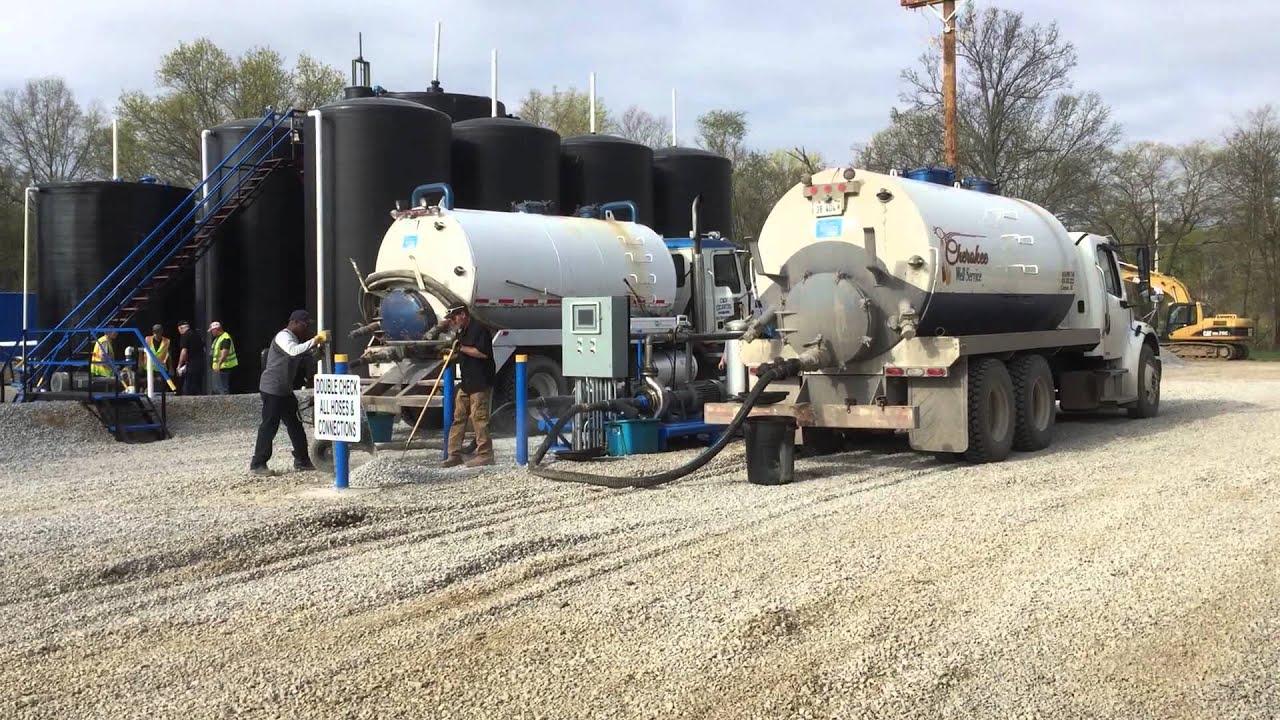 Salt Water Disposal Facility Southern Illinois Youtube