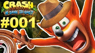 INDIANA JONES IST EIN BEUTELDACHS 🐲 Let's Play Crash Bandicoot N.Sane Trilogy #001 [Deutsch]