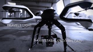 Carbon made Small Unmanned Aerial System (SUAS); named NEO