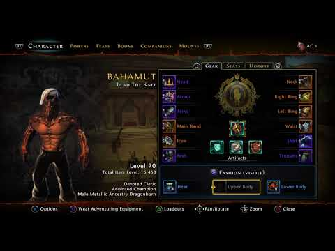 Neverwinter, DC Anointed Champion Build Buff/Debuff Mod 12 [Ps4]