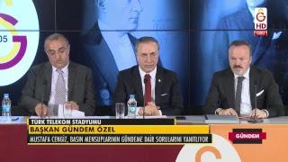 Galatasaray Spor Kulübü Başkanı Mustafa Cengiz Basın Toplantısı