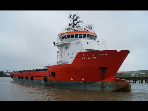 offshore supply vessel E.R. NARVIK at Great Yarmouth 18/6/16