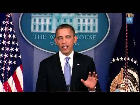 Washington: Video US-Präsident Barack Obama s Statement zum Hurrikan Sandy  Hurricane Sandy