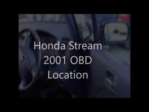 honda stream 2001 obd location youtube 1997 Honda Accord Fuse Box honda stream fuse box location