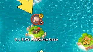 Boom Beach A LEVEL 18 IS ON MY MAP!!