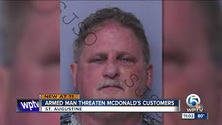 Report: Armed Florida Man At Mcdonald's Yelled 'get Out' Of America