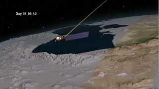Landsat Data Continuity Mission (LDCM) Orbits [1080p] [3D converted]