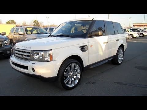2008 Range Rover Sport Supercharged Start Up Engine In