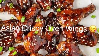 Asian Crispy Oven Wings 😍🍗👩🏾‍🍳