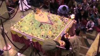 Video of Govardhan puja 2012 at HKM Jaipur.flv