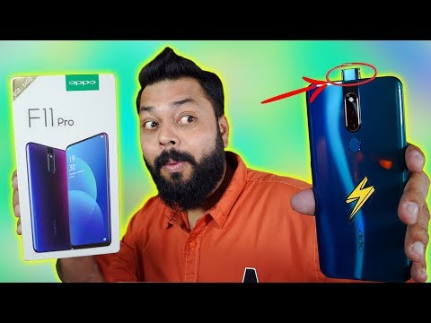 OPPO F11 PRO Unboxing & First Impression ⚡ Rising Camera Beauty