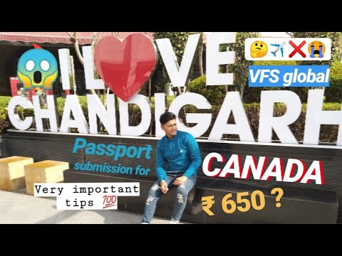Passport Submission For CANADA Visa Stamp 🇨🇦 | VFS | Very Important Things To Know 👍🏻 |