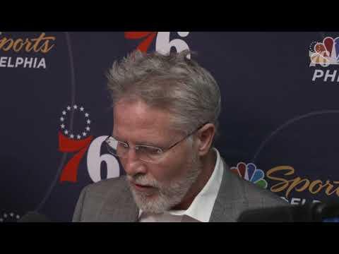 Brett Brown   Postgame Media Availability vs Washington Wizards (1.9.19)