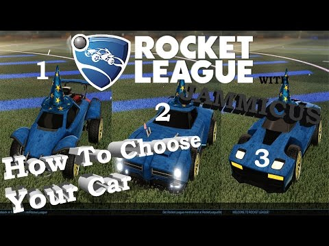 Rocket League Basics: Which Car to Use and Dribbling Testing
