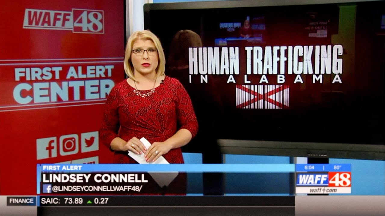 "WAFF 48 News Report on Shutdown of North Alabama ""Massage Parlors"" for  Human Trafficking"