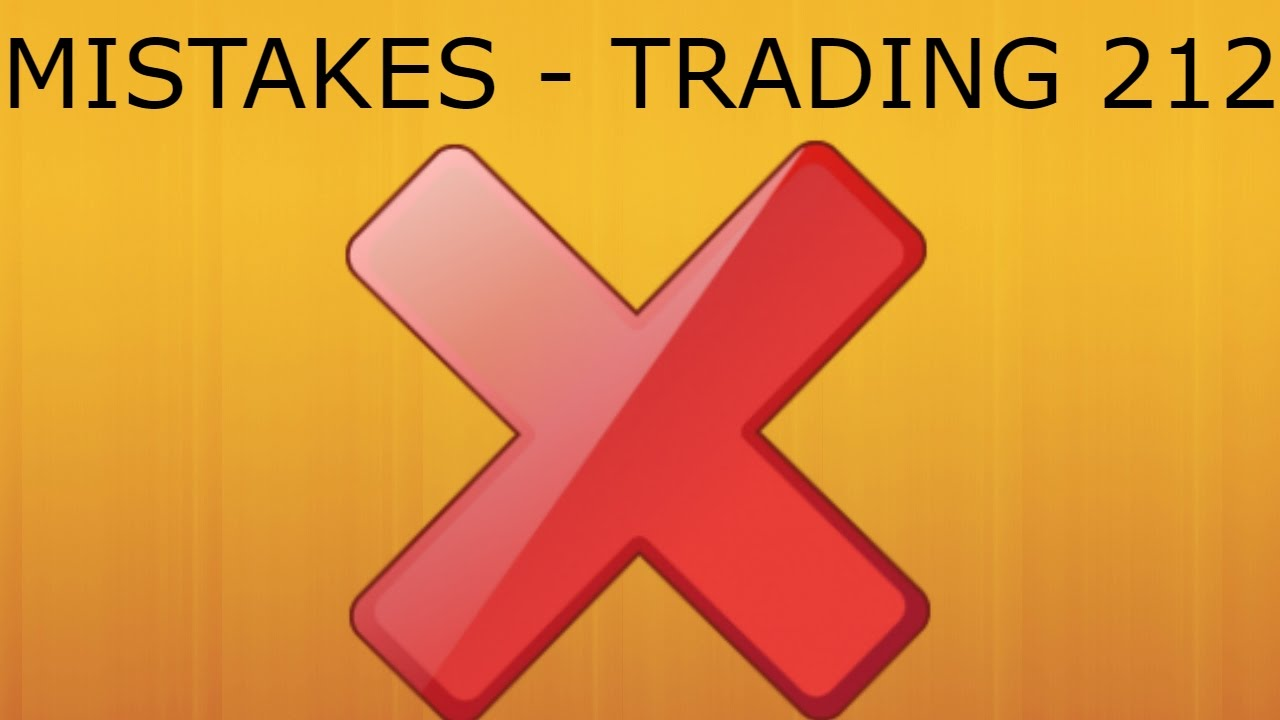 13 mistakes trading forex