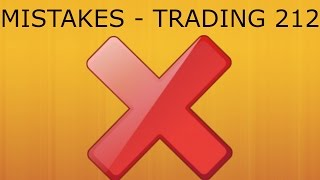 MISTAKES - Trading 212 Forex Trading #38
