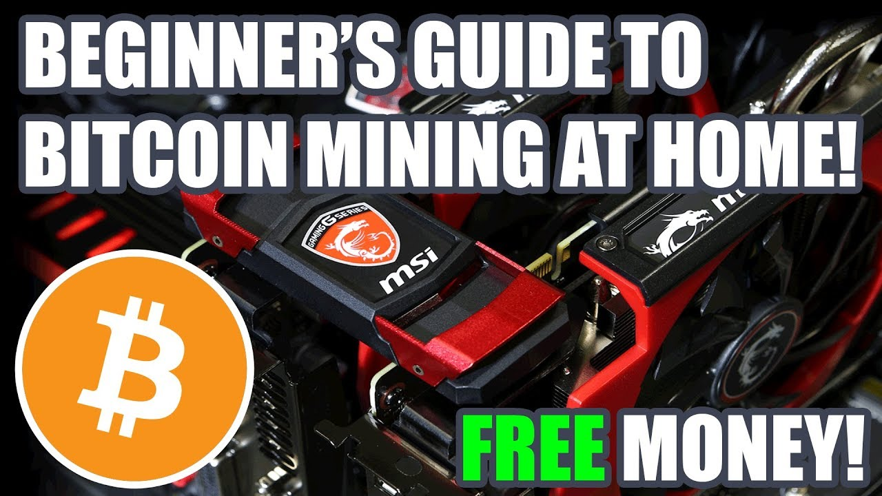 beginners guide to bitcoin mining