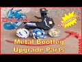 BEYBLADE Bootleg Metal Upgrade parts   Beyblade / Battle top that Sparks (Raw video)
