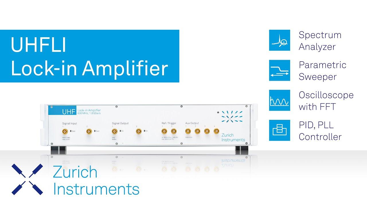 Uhfli Lock In Amplifier Overview Youtube Lockin Amplifierj Premium